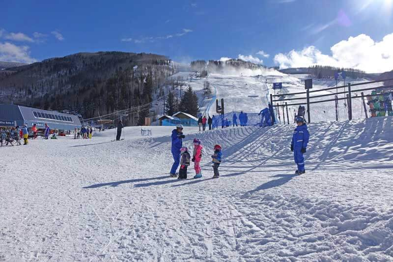 Ski School Tips - Vail Ski School Instructors and Kids
