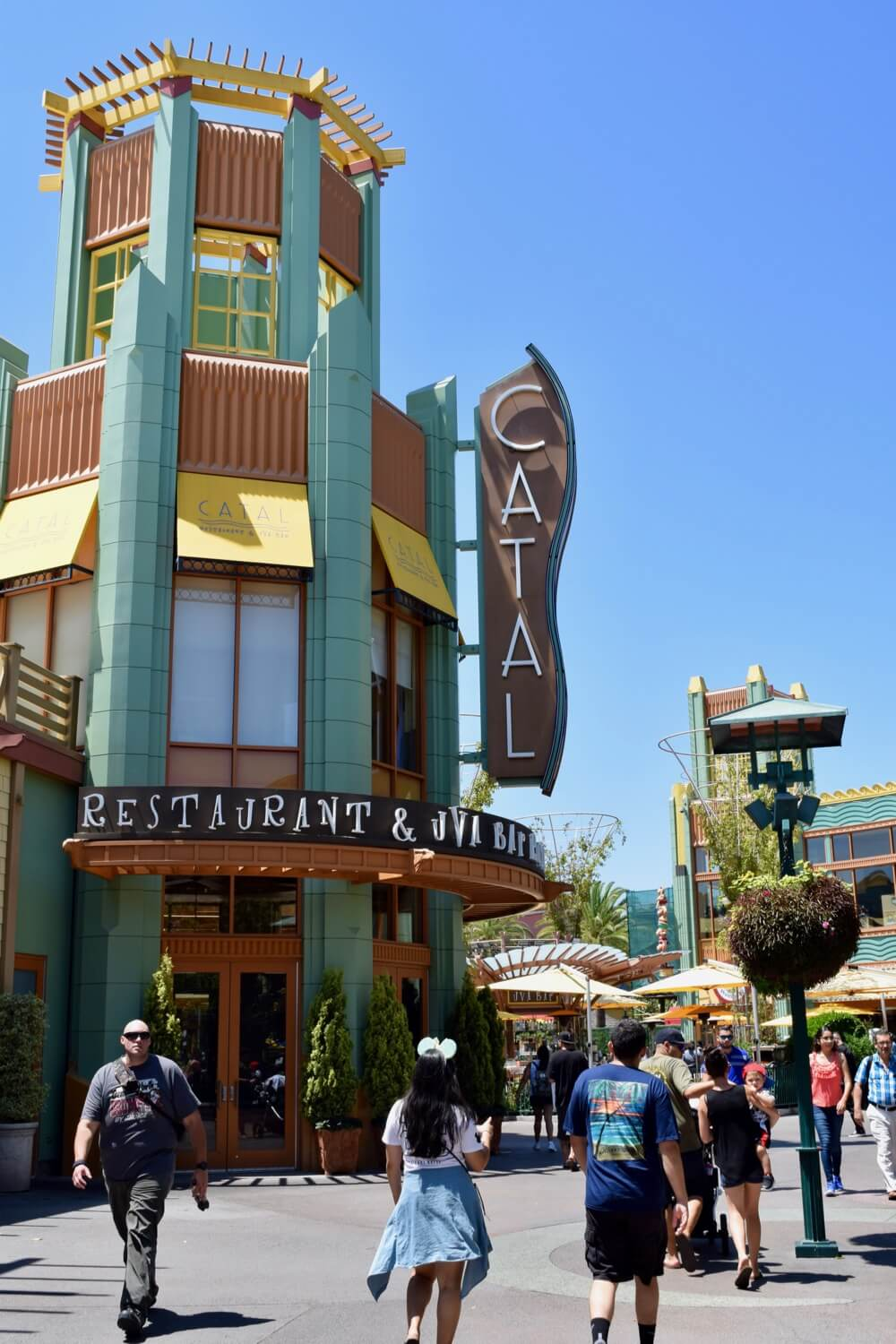 Guide To Downtown Disney at Disneyland - Catal Restaurant