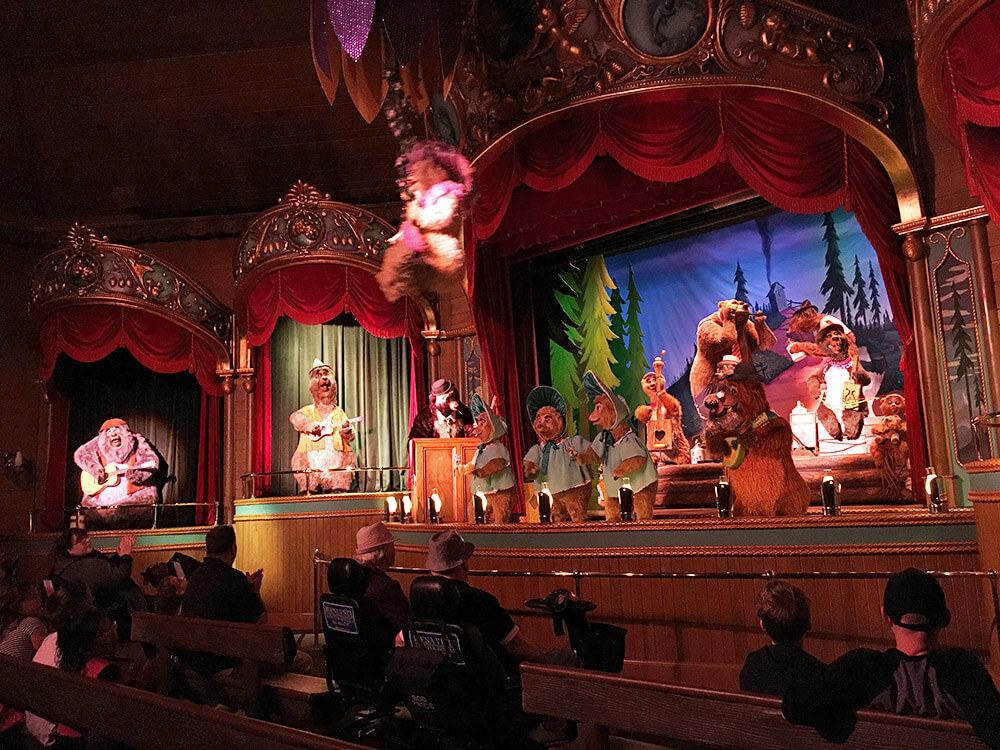 The Secret History of Disney Rides: Country Bear Jamboree - Country Bear Jamboree