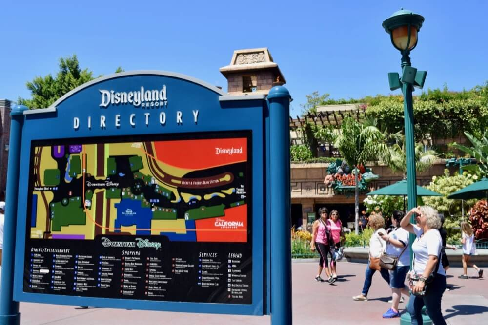 Guide To Downtown Disney at Disneyland - Downtown Disney Directory