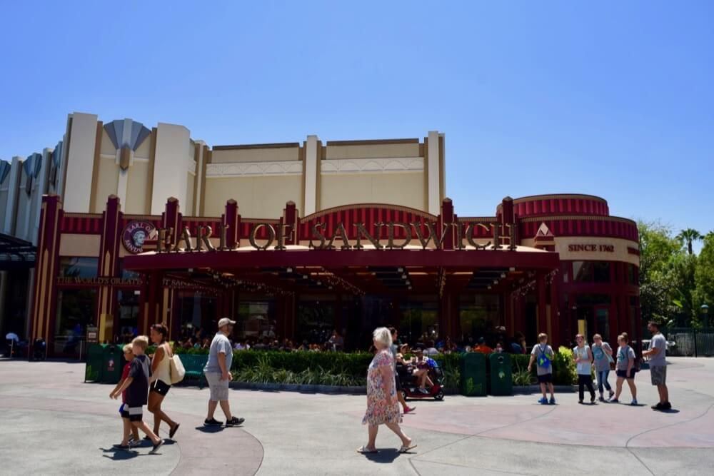 Guide To Downtown Disney at Disneyland - Earl of Sandwich