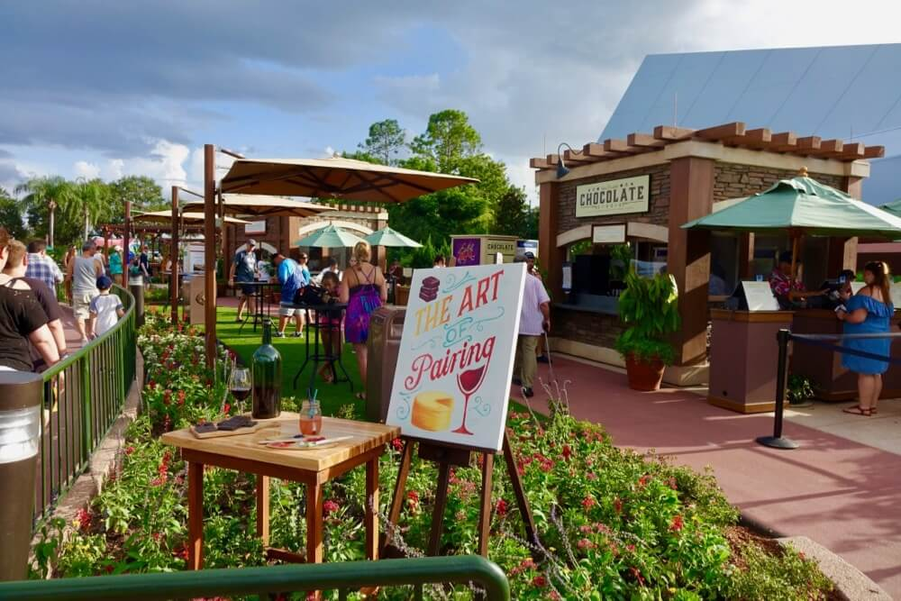 Epcot Food and Wine Festival 2017 - Art of Pairing