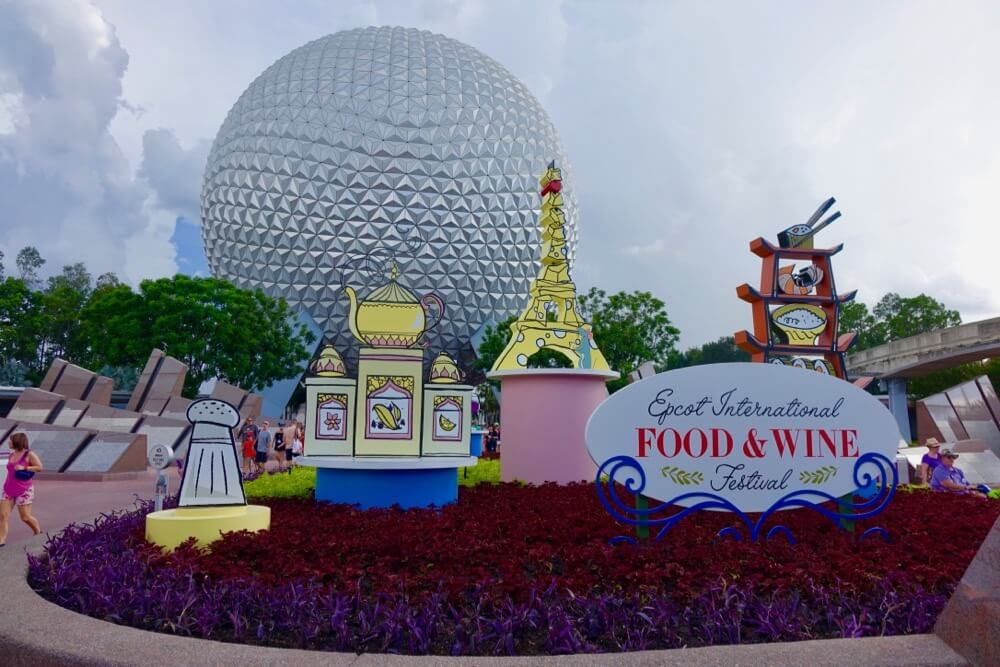 Food And Wine Festival Epcot  Tickets