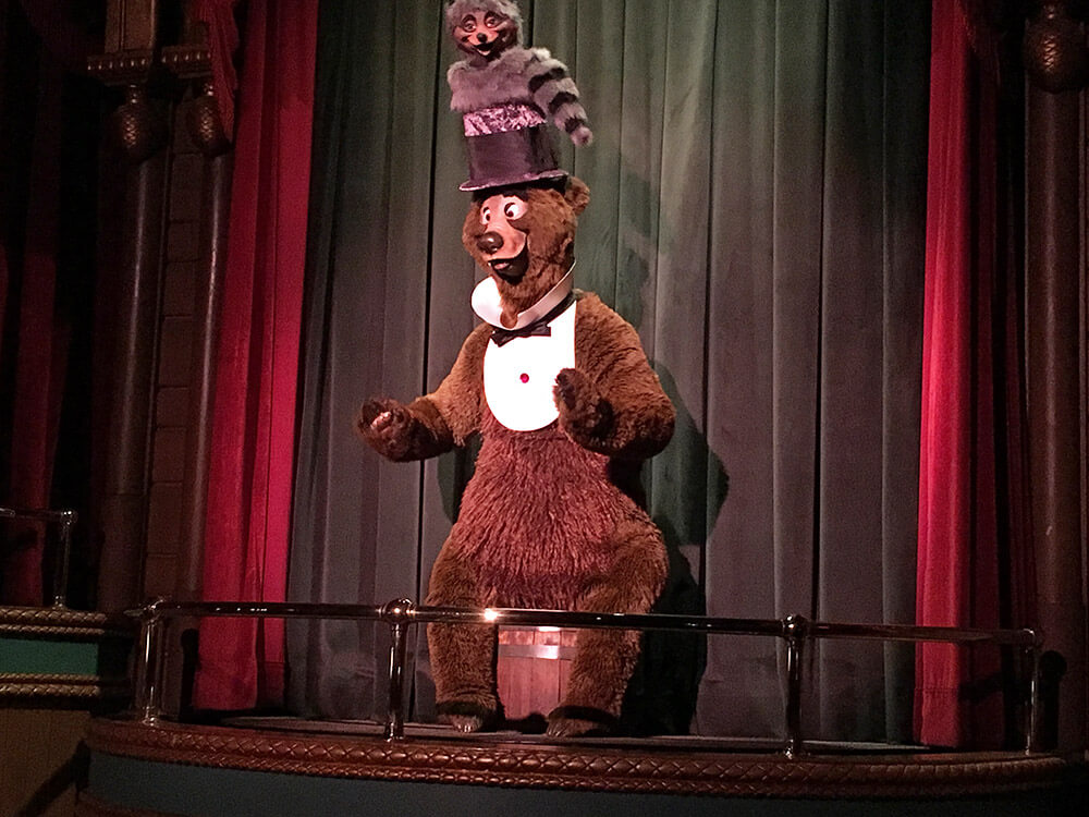The Secret History of Disney Rides: Country Bear Jamboree - Musical Bears