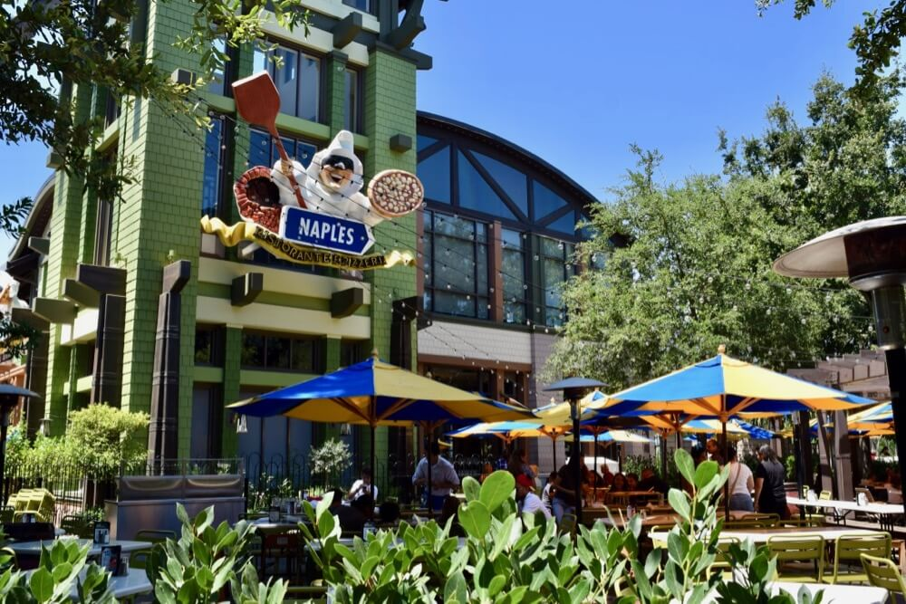 Guide To Downtown Disney at Disneyland - Naples Ristorante