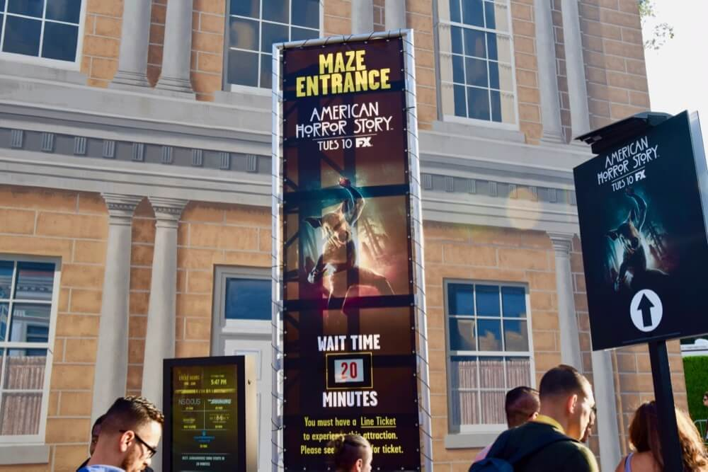 guide to halloween horror nights hollywood 2017 american horror story wait time - How Much Are The Halloween Horror Night Tickets