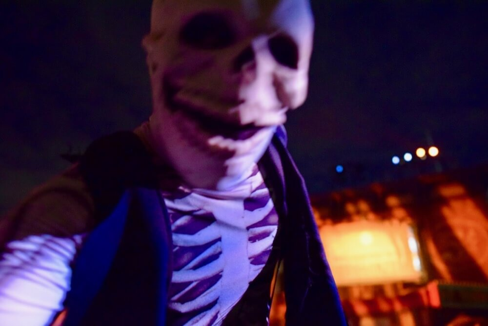 Guide to Halloween Horror Nights Hollywood 2017 - Skeleton