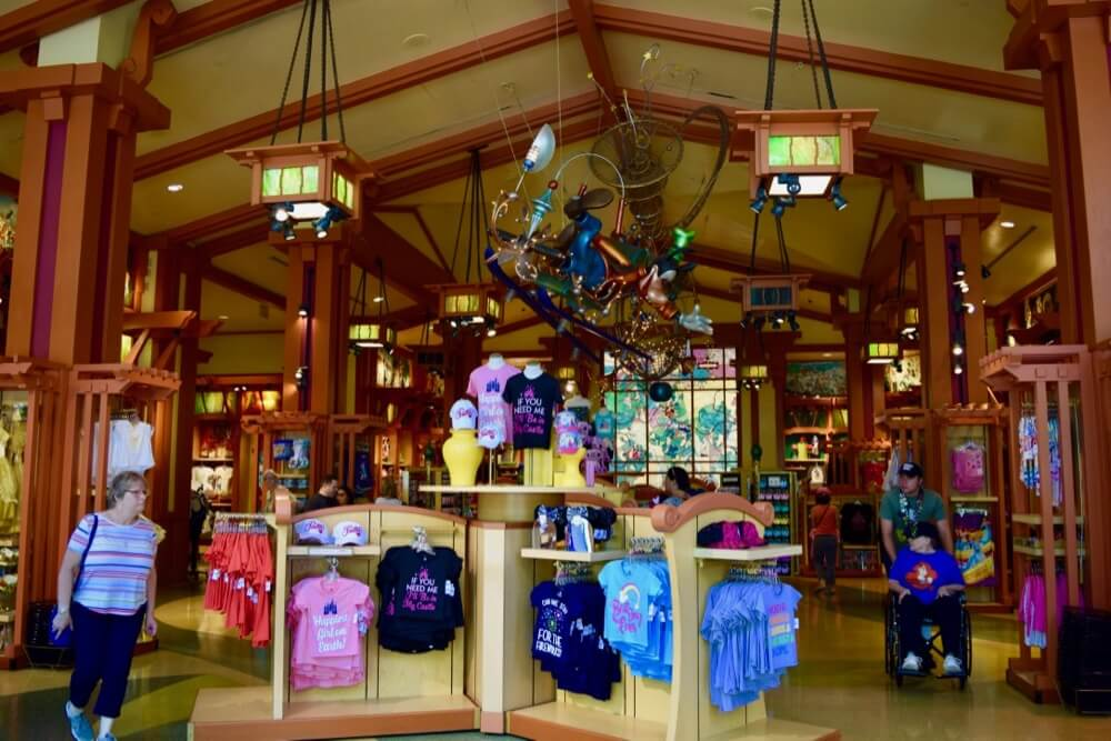 Guide To Downtown Disney at Disneyland - World of Disney Interior