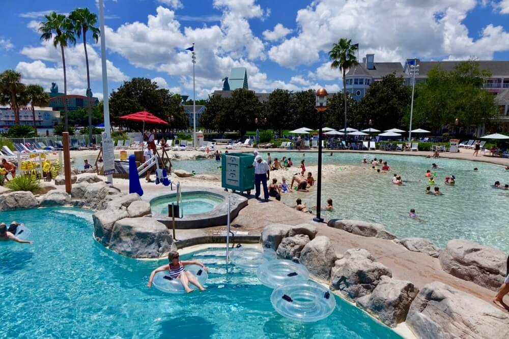 Best Disney Deluxe Resort - Beach Club Pool