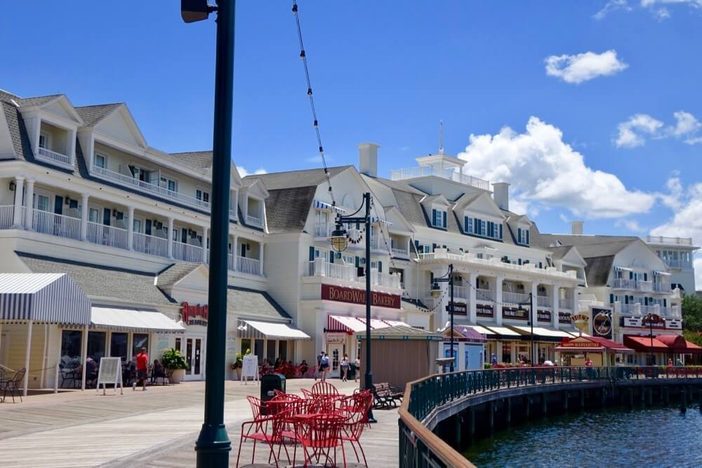 Disney World Deluxe Hotel - Boardwalk Inn Exterior