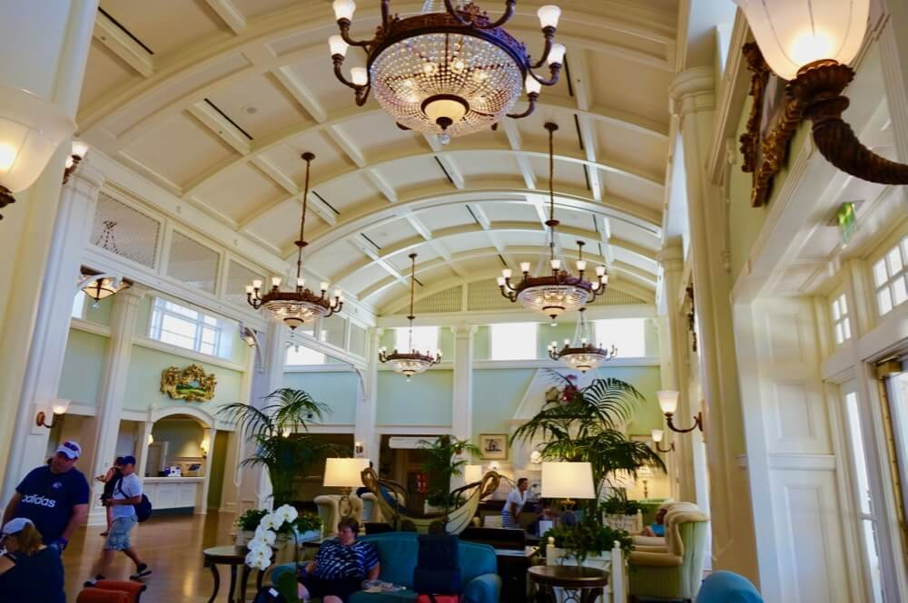 Disney World Deluxe Resort Hotel - Boardwalk Inn Lobby