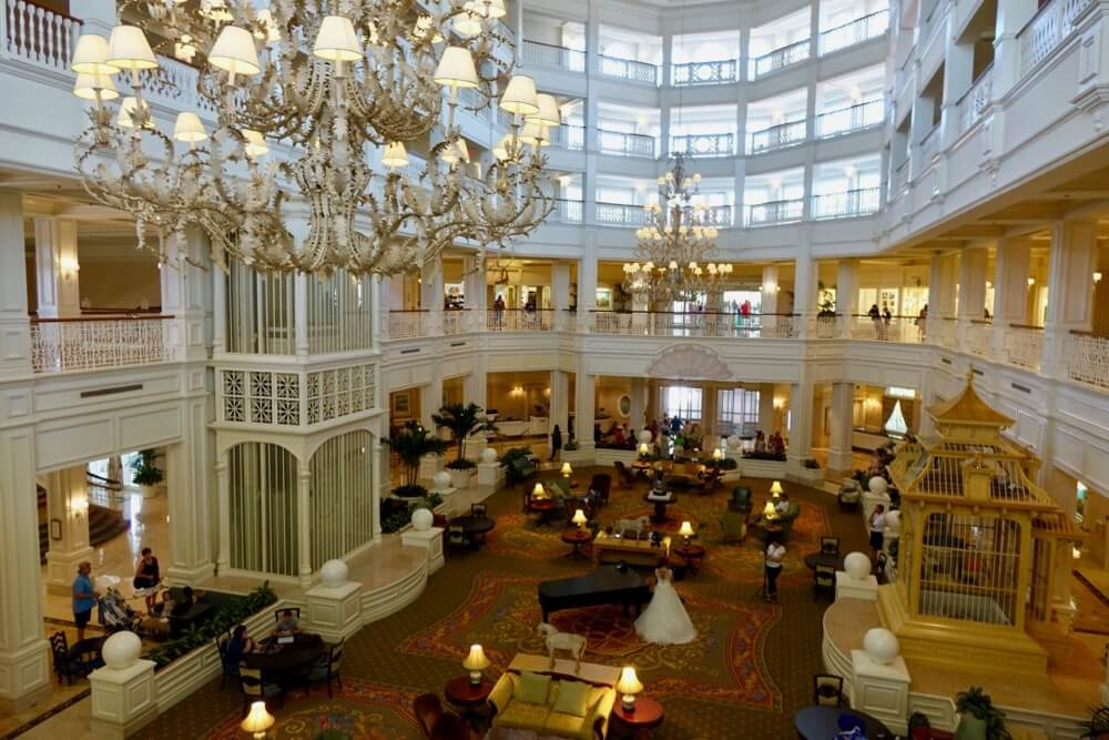 Disney World Deluxe Resort Hotel - Grand Floridian Lobby