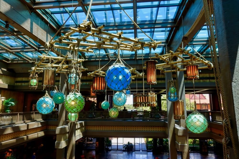 Disney World Deluxe Resort Hotel - Polynesian Lobby