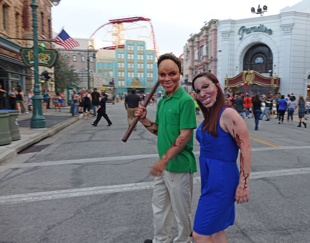 Universal Orlando Halloween Horror Nights 27 Purge Scare Zone