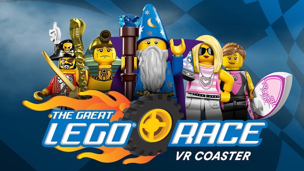 The Great LEGO Race VR Coaster Rolls Into LEGOLAND Florida in 2018