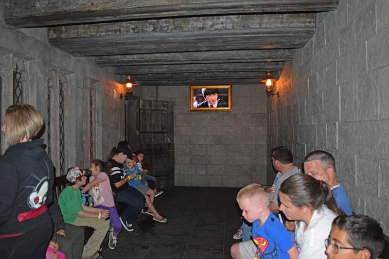 Universal Studios Hollywood for Toddlers - Child Switch Room