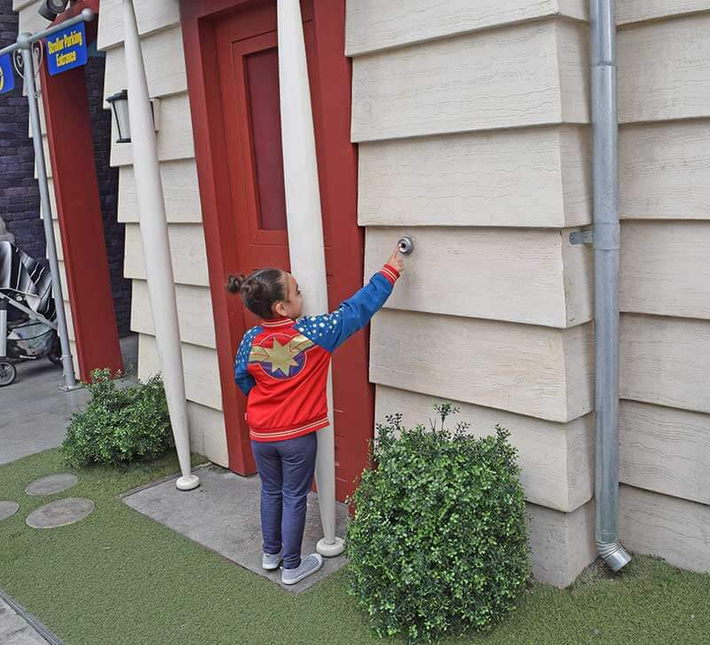 Universal Studios Hollywood for Toddlers - Doorbells
