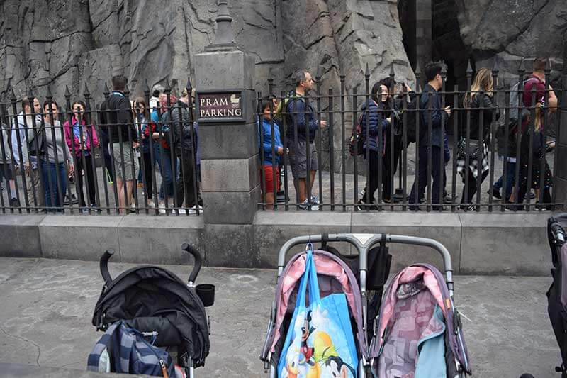 Universal Studios Hollywood for Toddlers - Strollers