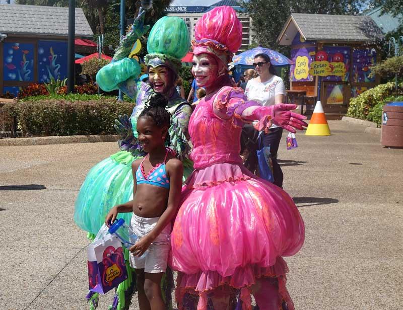 SeaWorld Orlando Halloween Spooktacular - Meet and Greets