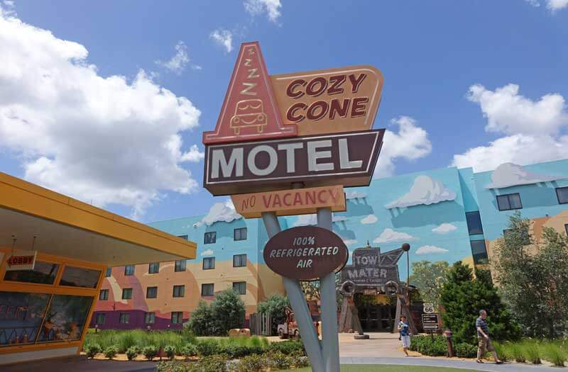 Tips for Exploring Disney's Art of Animation - Cozy Cone Motel and Cars Section