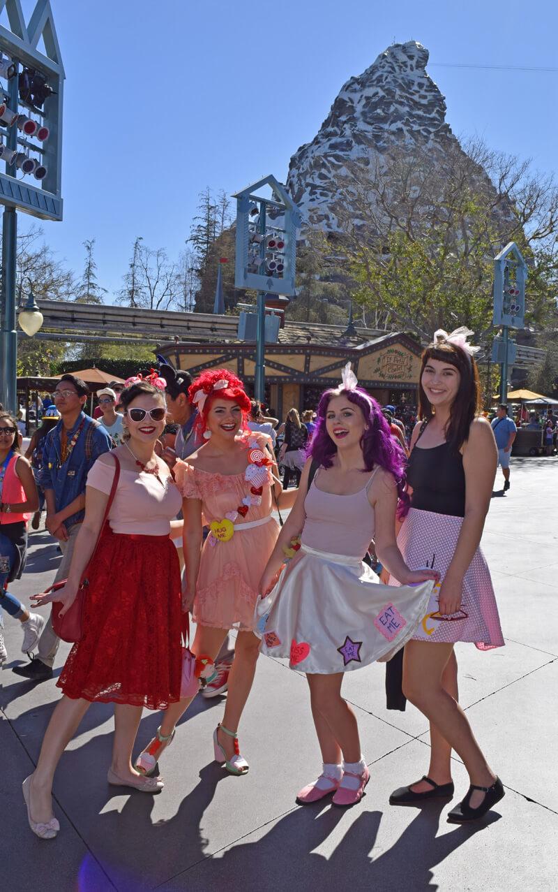 Disneyland for Adults - Disneybounding Gals at Matterhorn