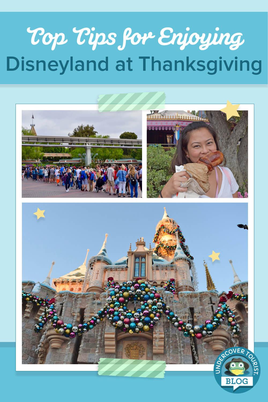 Disneyland at Thanksgiving Pinterest