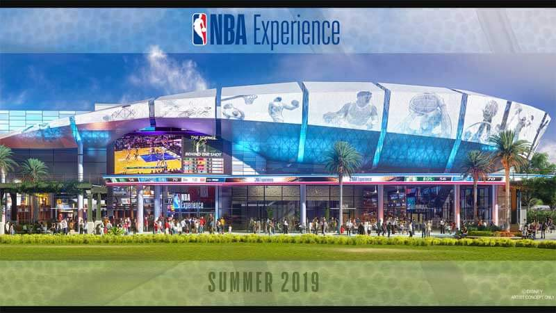 NBA Experience - What's Coming to Disney World and Universal in 2019