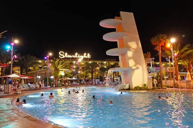 Things to Do at Universal Orlando Besides the Theme Parks - Cabana Bay Dive Tower Slide and Pool