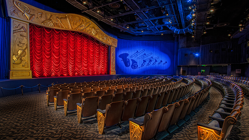 The Secret History of Disney Rides: Mickey's PhilharMagic - Mickey's PhilharMagic Theater