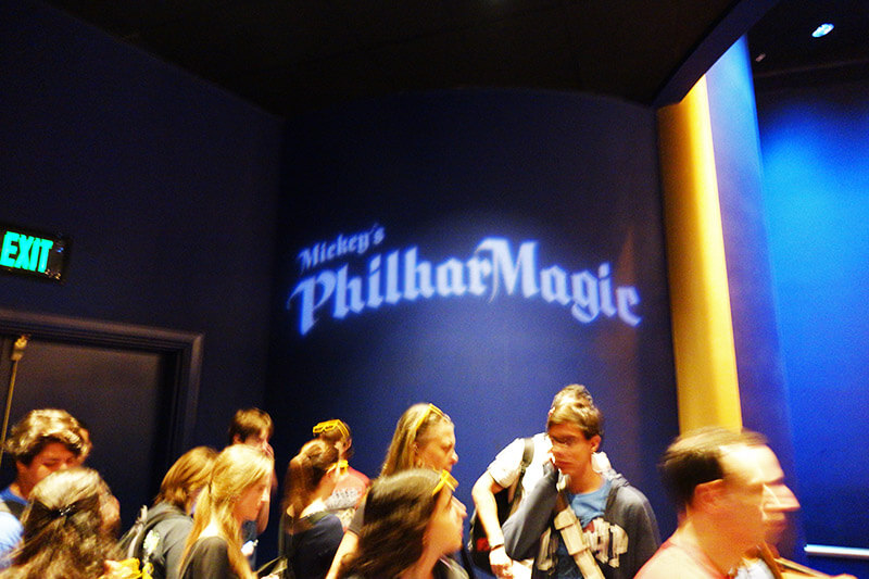 The Secret History of Disney Rides: Mickey's PhilharMagic - Inside