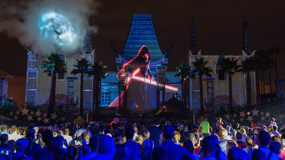 Navigating the Star Wars Fireworks at Disney's Hollywood Studios