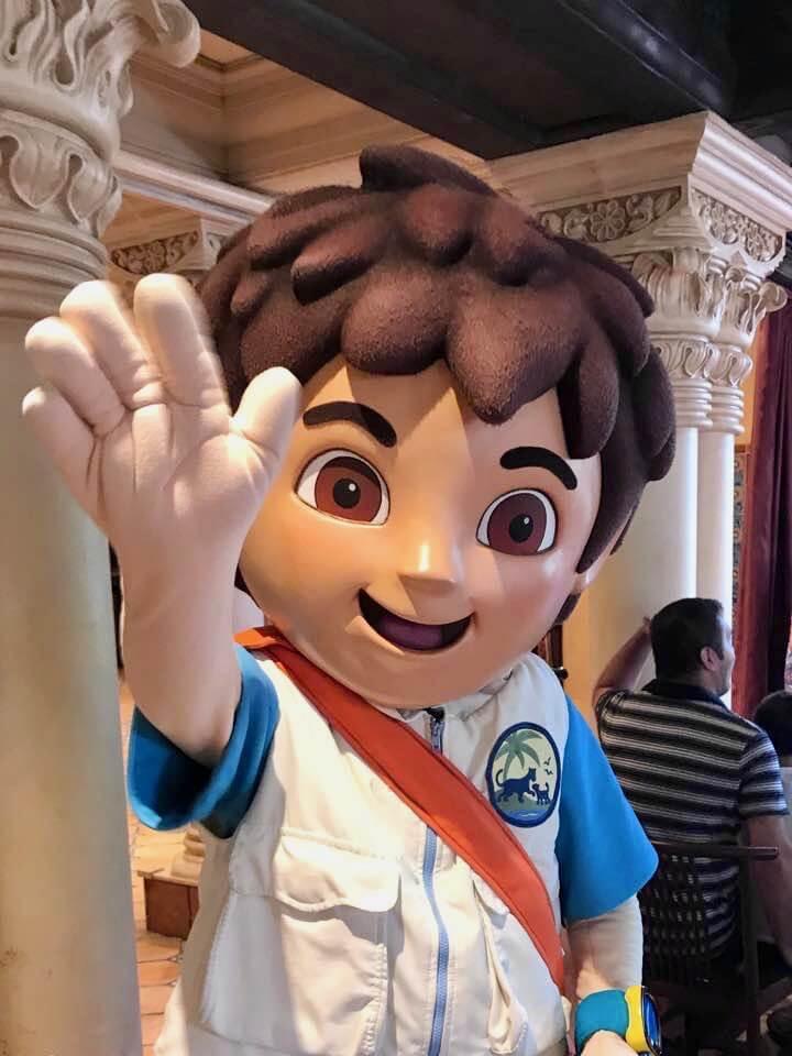 Universal's Superstar Character Breakfast - Diego
