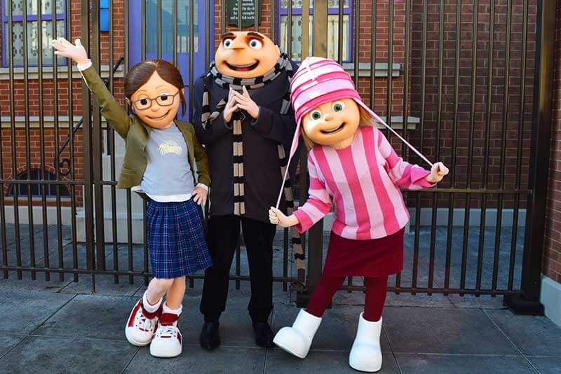 Fun Guide to Universal Studios Hollywood Character Spotting-despicable