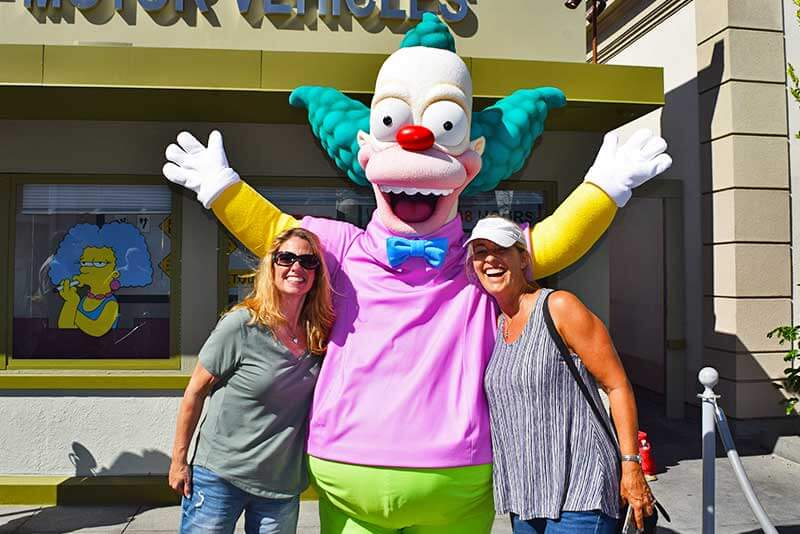Fun Guide to Universal Studios Hollywood Character Spotting-Krusty