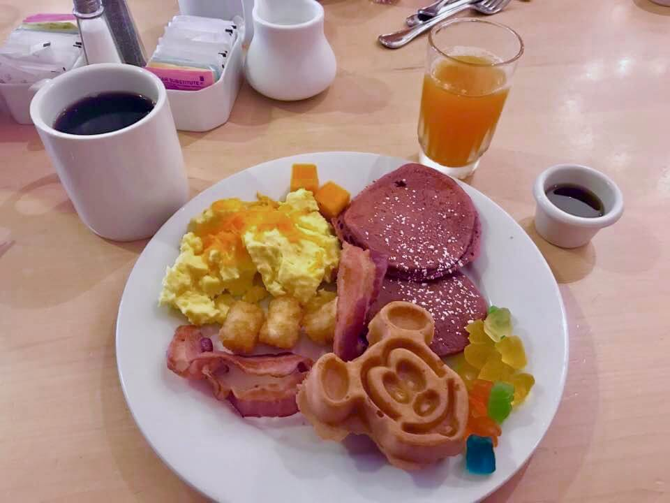 Supercalifragilistic Breakfast - 1900 Park Fare Breakfast Plate