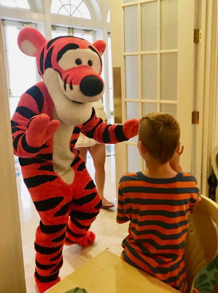Supercalifragilistic Breakfast - Tigger and Guest