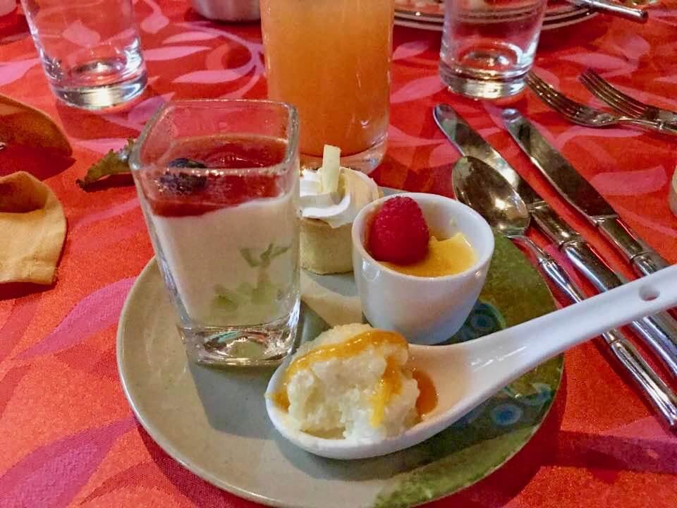 Wantilan Luau at Universal Orlando - Wantilan Luau Dinner Plate
