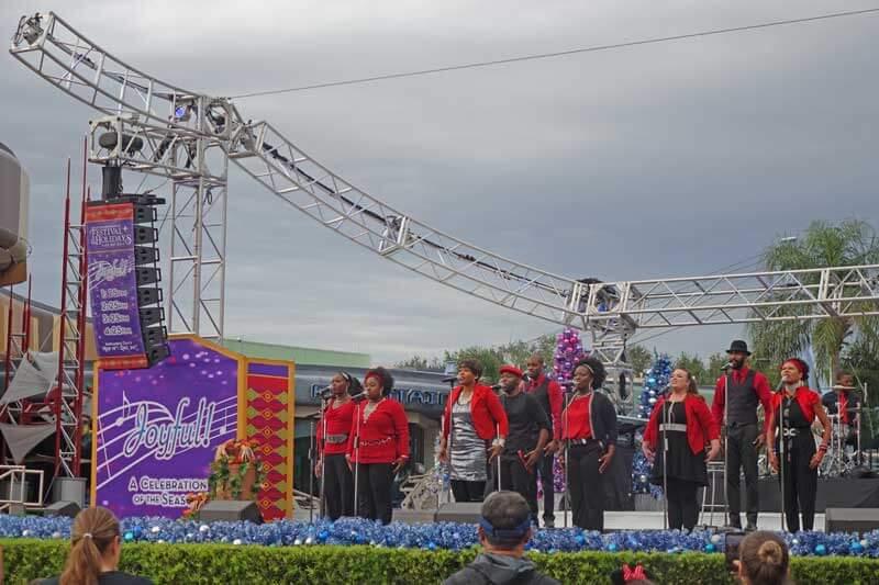 Joyful! A Celebration of the Season - Epcot International Festival of the Holidays 2017
