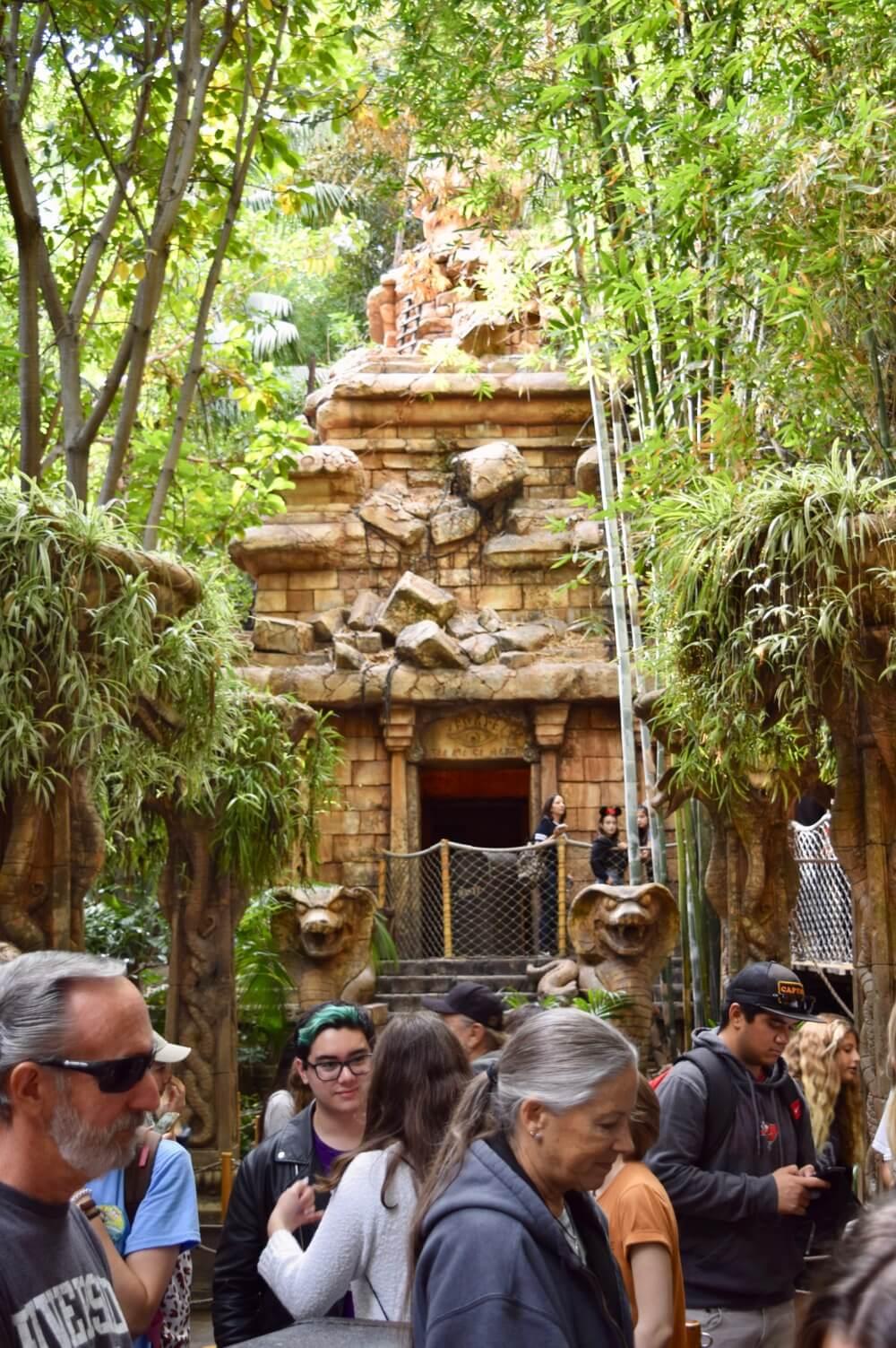 Best Queues at Disneyland - Indiana Jones Exterior