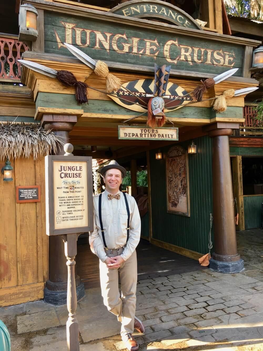 Best Queues at Disneyland - Jungle Cruise Exterior