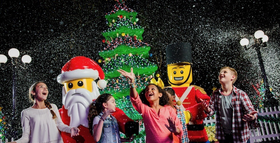 Pixar Pier at Disney California Adventure - Legoland Christmas Bricktacular