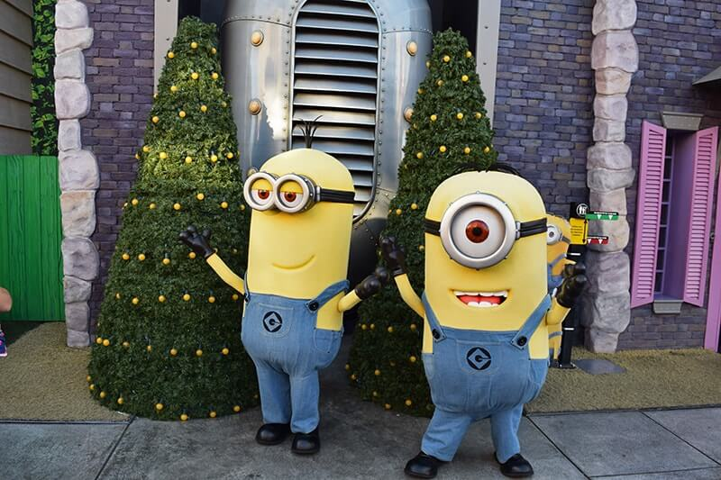 Christmas at Universal Studios Hollywood 2019 - Merry Minions