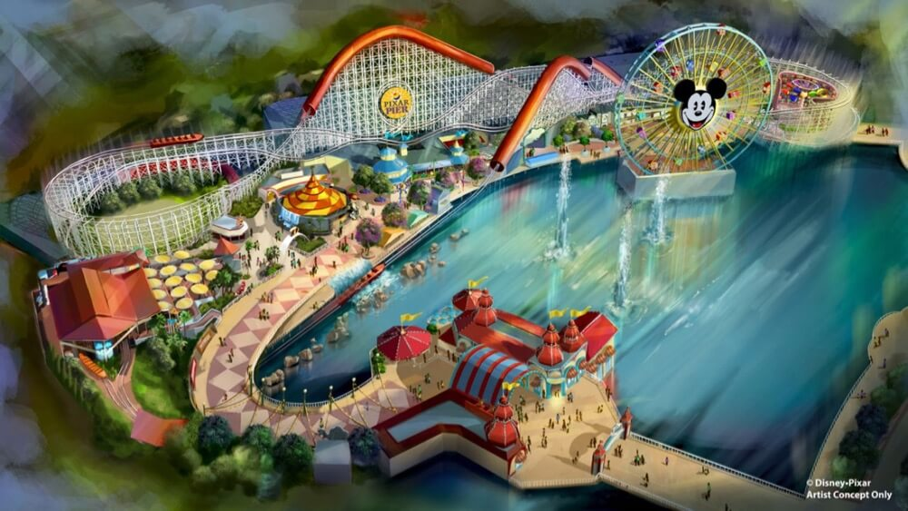 Disney Reveals Plans for Pixar Pier at Disney California Adventure