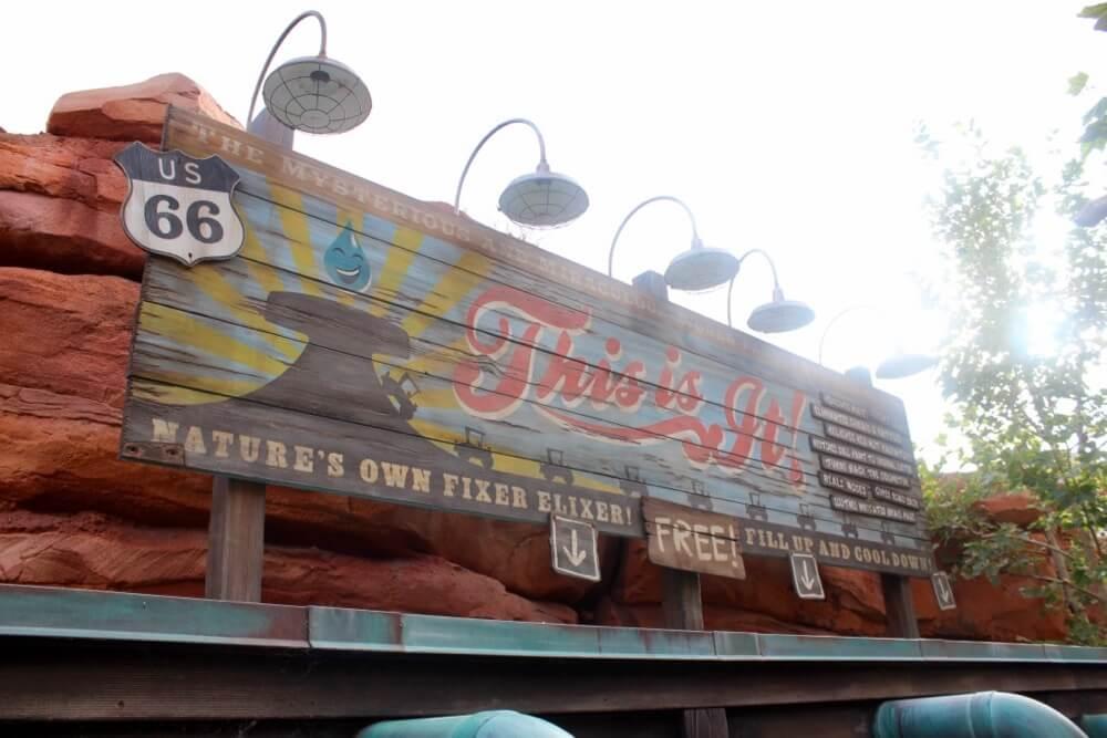 Best Queues at Disneyland - Radiator Springs Racers Queue