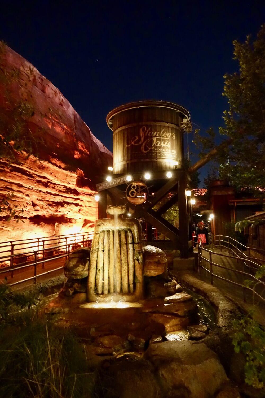 Best Queues at Disneyland - Radiator Springs Racers Springs