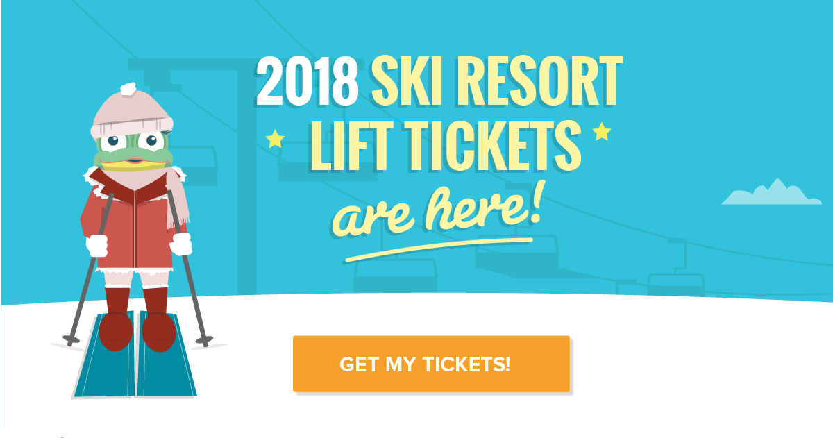 2017-2018 Discount Lift Tickets Are Here!