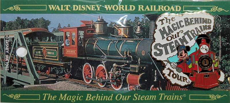 The Magic Behind Our Steam Trains Tour - Exclusive Pin