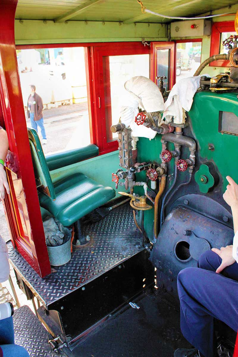 The Magic Behind Our Steam Trains Tour - Cab Interior