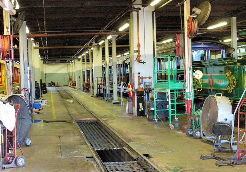 The Magic Behind Our Steam Trains Tour - Warehouse