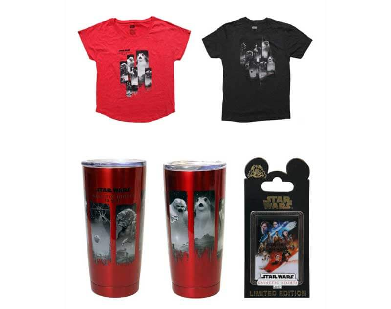 Star Wars Galactic Nights Merchandise
